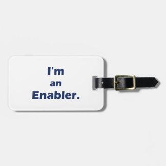 Ya Gotta Have KART / I'm an Enabler Luggage Tag