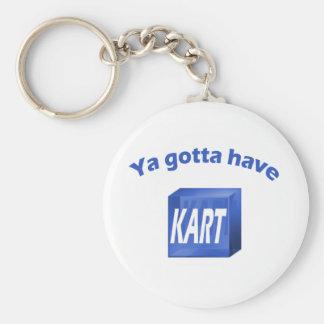 Ya gotta have KART Keychain