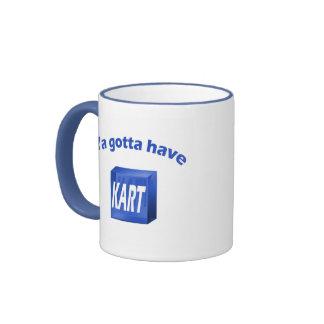 Ya gotta have KART mug