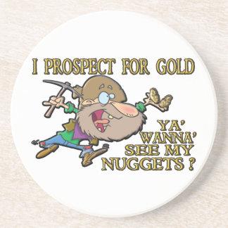 Ya' Wanna' See My Nuggets ? Drink Coasters