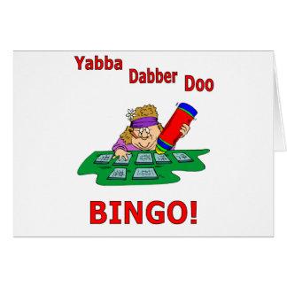 Yabba Dabber Doo - BINGO Card