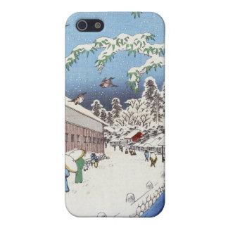 Yabu Street Below Atago – Ando Hiroshige iPhone 5 Cases