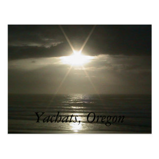 Yachats, Oregon Postcard