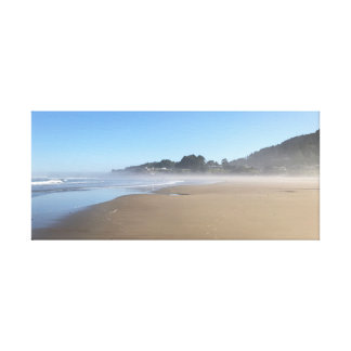 Yachats, Oregon - the small town on the Coast Canvas Print