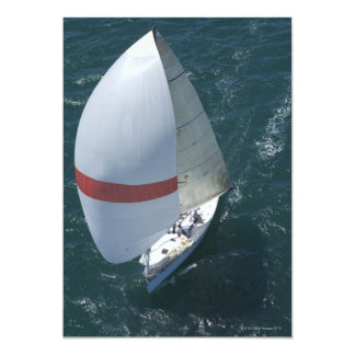 Yacht 13 Cm X 18 Cm Invitation Card