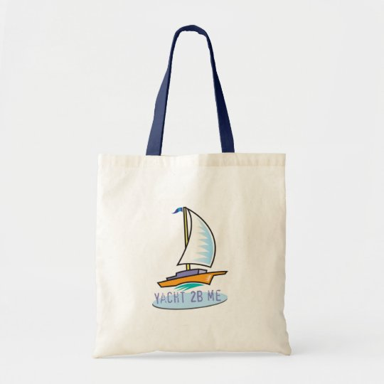 Yacht 2B Me™_Logo Boat tote bag