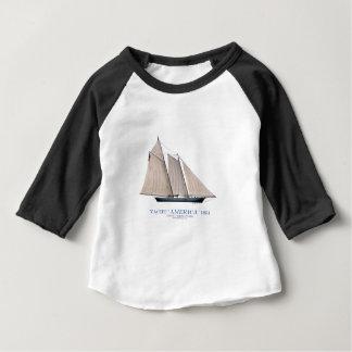 yacht america 1851 baby T-Shirt