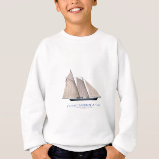 yacht america 1851 sweatshirt