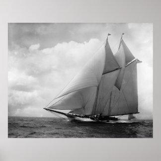 Yacht America c1910 Print