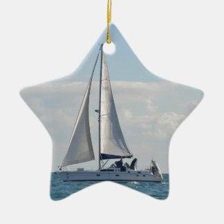 Yacht Baloo Christmas Ornament