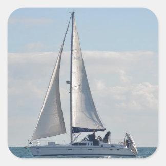 Yacht Baloo Square Sticker