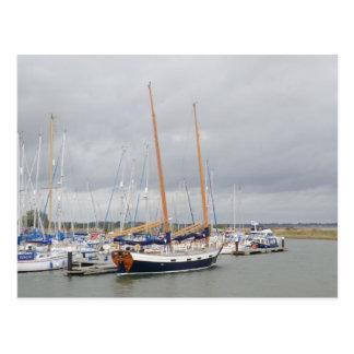 Yacht Barn Owl Postcard