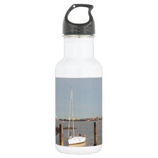 Yacht Bliss Entering Harbour 532 Ml Water Bottle