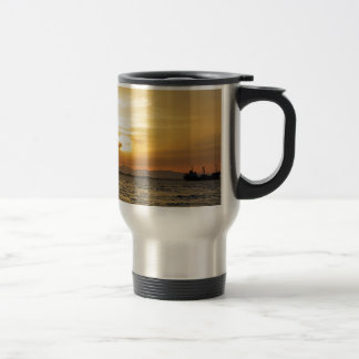 Yacht Blue Moon Travel Mug