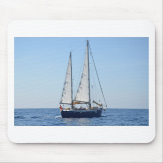 Yacht Cleophea Mouse Pad