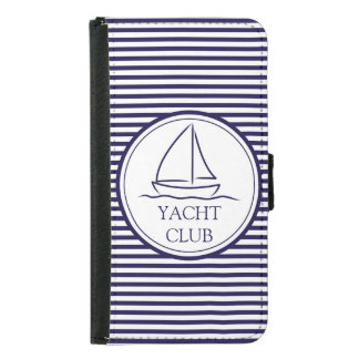 Yacht Club Samsung Galaxy S5 Wallet Case