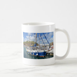 Yacht Francesca In The Azores Coffee Mug