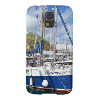 Yacht Francesca In The Azores Galaxy S5 Case
