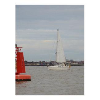 Yacht Orca Post Cards