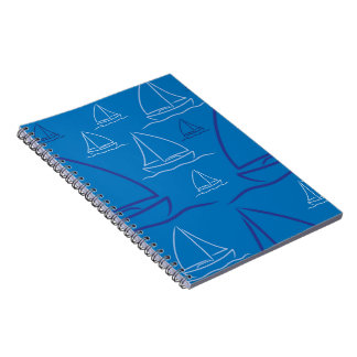 Yacht pattern notebook