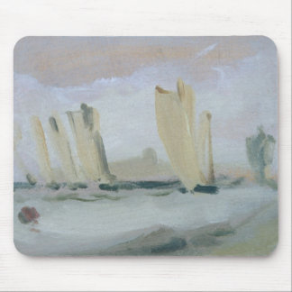 Yacht Racing on the Solent, previously attributed Mouse Mat