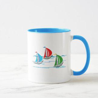 Yacht Racing Trio Mug