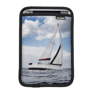 Yacht Sailing In Open Sea iPad Mini Sleeve
