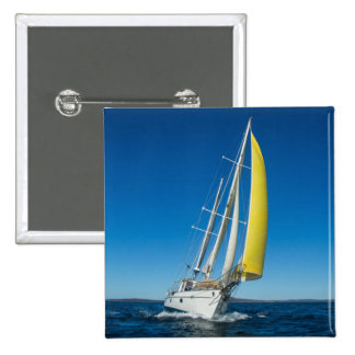 Yacht Sailing   South Australia 15 Cm Square Badge