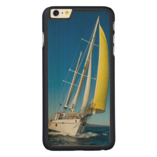 Yacht Sailing   South Australia Carved Maple iPhone 6 Plus Case