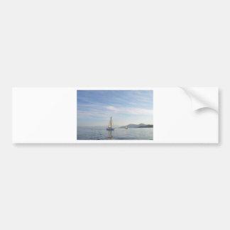 Yacht Shady Lady Bumper Sticker