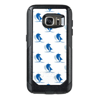 Yacht With Sails Pattern OtterBox Samsung Galaxy S7 Case