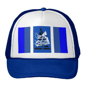 Yachting Blue Hat