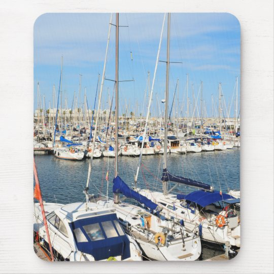 Yachting Mouse Mat