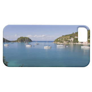Yachts at anchor, Lakka, Paxos, Greece iPhone 5 Cases