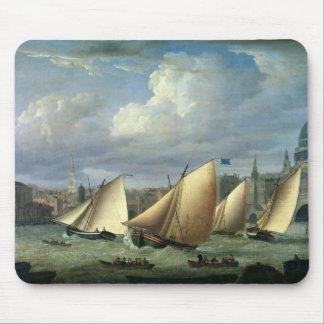 Yachts of the Cumberland Fleet starting Mouse Mat