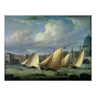Yachts of the Cumberland Fleet starting Poster