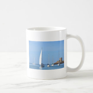 Yachts On Moorings Coffee Mug