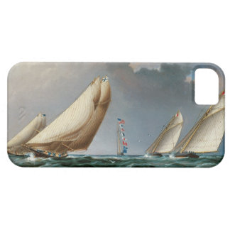 Yachts Rounding the Mark iPhone 5 Cases