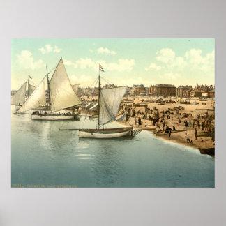 Yachts Starting at Yarmouth, Norfolk, England Print