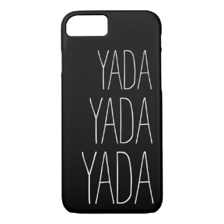 Yada   Whimsical Typography iPhone 7 Case