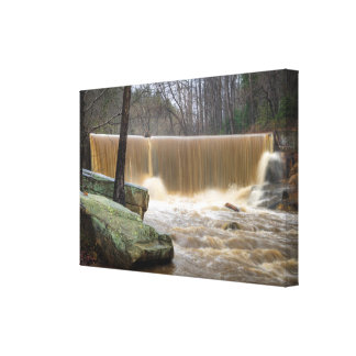 Yadkin River in North Carolina Canvas Print