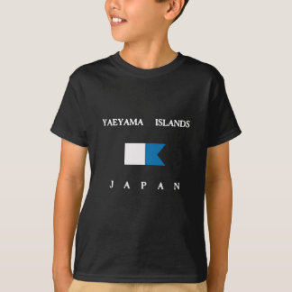 Yaeyama Islands Japan Alpha Dive Flag Tee Shirt