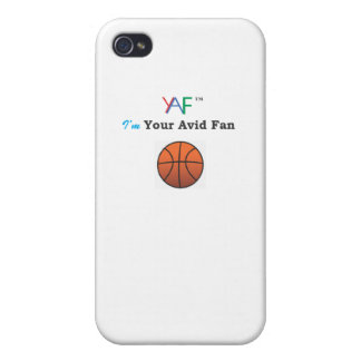 YAF Basketball iPhone 4/4S Covers