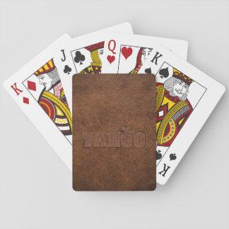 YAHOO western style Poker Deck