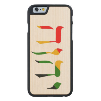 Yahweh in Hebrew Carved® Maple iPhone 6 Slim Case