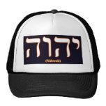 Yahweh (written in Hebrew) Hat