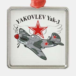 yak-3 christmas ornament