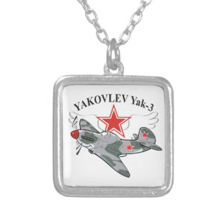 yak-3 silver plated necklace