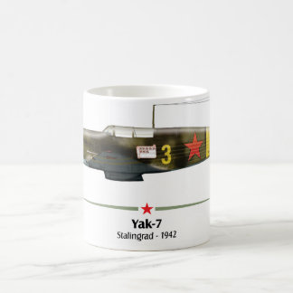 Yak-7 - Battle of Stalingrad -1942 Coffee Mug