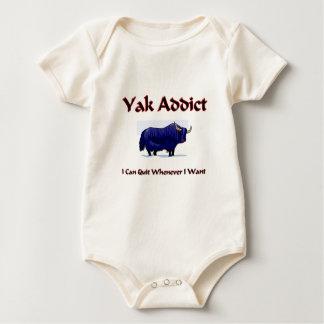Yak Addict Baby Bodysuit